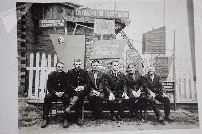 Лесники Ивановского лесничества в 1960-е годы
