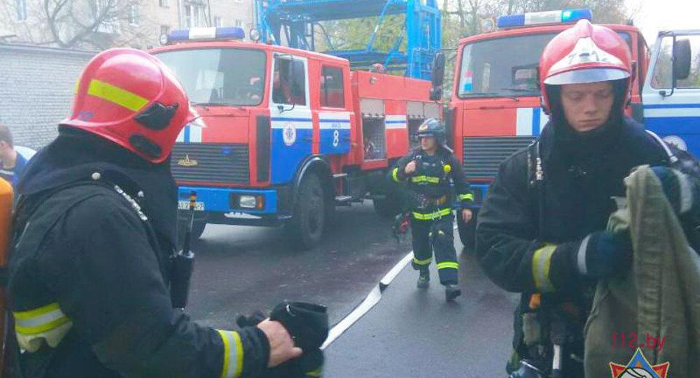 ВМинске изадминистративного здания эвакуировали 200 человек