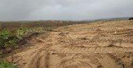 Археологический объект коло деревни Арпа поврежден строительной техникой