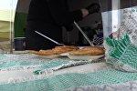 Чемпионат по поеданию драников в Минске, видео