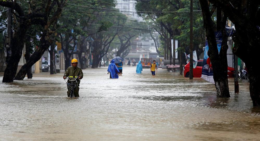Ситуация во Вьетнаме после тайфуна