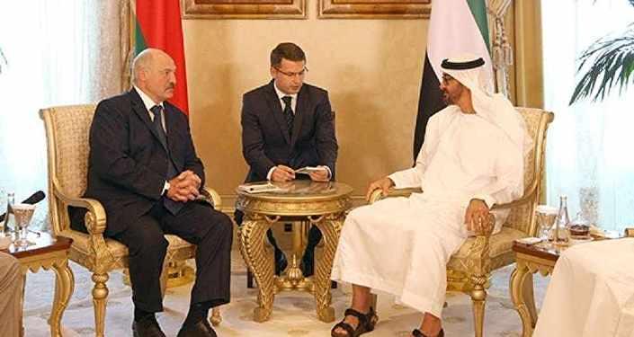 Александр Лукашенко провел переговоры с Наследным принцем Абу-Даби, шейхом Мухаммедом бен Заидом аль-Нахайяном