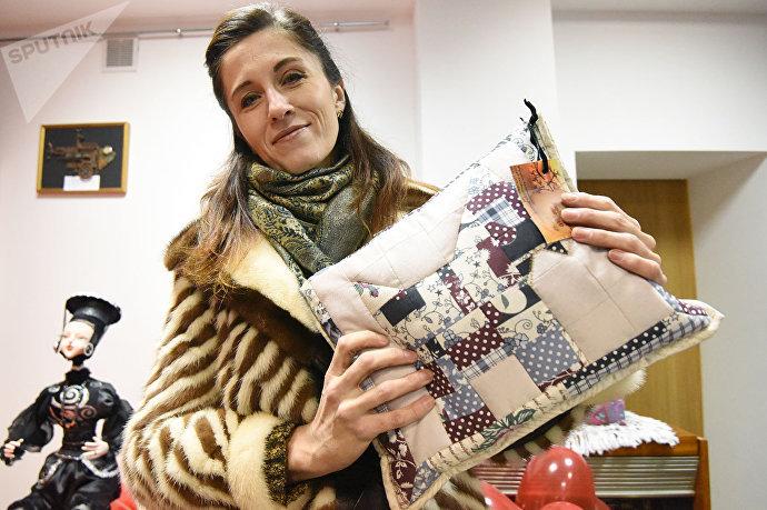 Илона Герасимова второй год занимается лоскутным шитьем