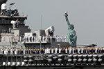 Корабль ВМС США, архивное фото