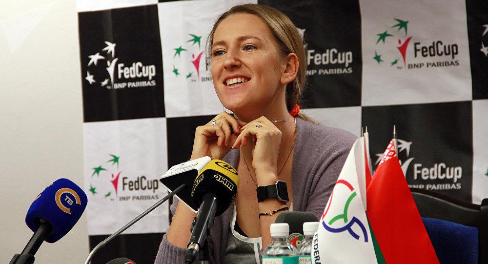 Виктория Азаренко будет всем сердцем поддерживать Беларусь вматче Кубка Федерации