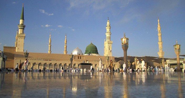 Мечеть в Саудовской Аравии, архивное фото