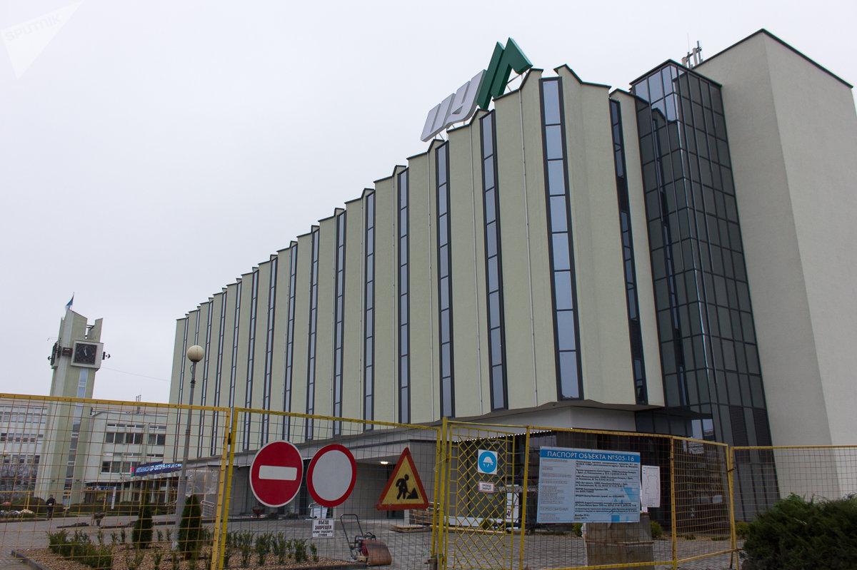 Здание ЦУМа в Бресте