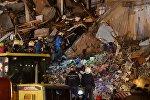 Обрушение жилого дома в Ижевске, фото с места событий
