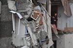 Последствия обрушения жилого дома в Ижевске, фото с места событий