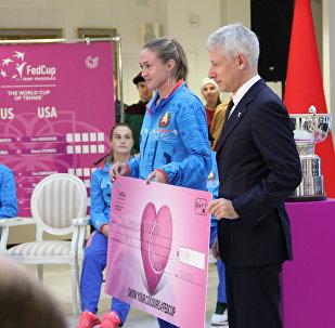 Александра Саснович получила награду Fed Cup Heart Awards