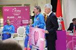 Аляксандра Сасновіч атрымала ўзнагароду Fed Cup Heart Awards