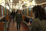 Легенды подземных путей можно увидеть в бакинском метро