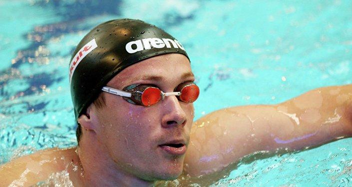 Белорусский пловец Евгений Цуркин