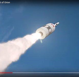 NASA показала видео испытаний нового лунного корабля