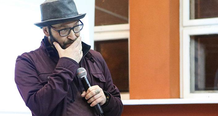 Міхаіл Козыраў падчас Colisium Music Week у Мінску