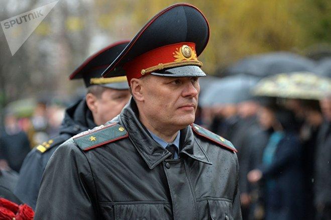 Заместитель Министра внутренних дел Александр Кобрусев