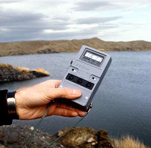 Атомное озеро под Семипалатинском