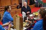 Александр Лукашенко встретился с белорусским теннисистками