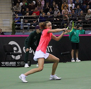 Белорусская теннисистка Алескандра Саснович
