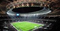 Товарищеский матч между сборными командами России и Аргентины на стадионе Лужники.
