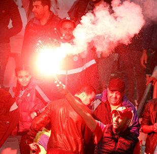 Фанаты сборной Марокко по футболу, празднуя выход на ЧМ, устроили беспорядки в Брюсселе