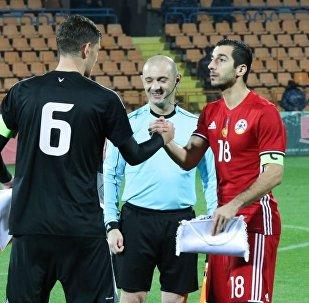Товарищеский матч Армения - Беларусь