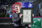 Татьяна Пучек удостоена премии Международной федерации тенниса