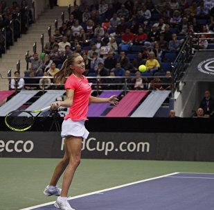 Белорусская теннисистка Александра Саснович