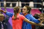 Белорусские теннисистки Александра Саснович и Арина Соболенко