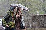 Мінакі пад час снегападу