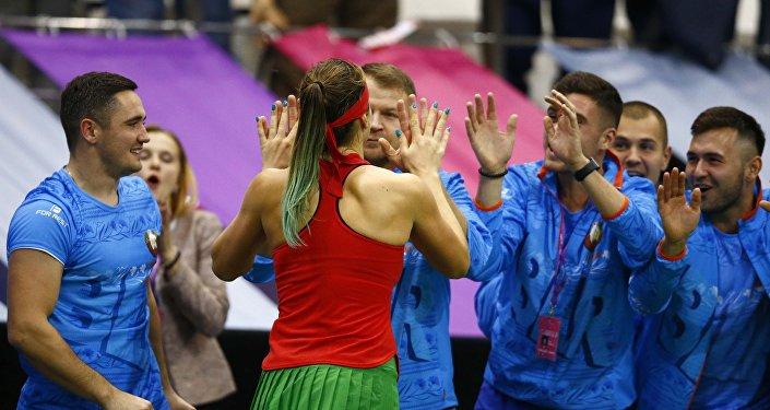 Белорусский теннис вскором времени громко заявит осебе— Лукашенко