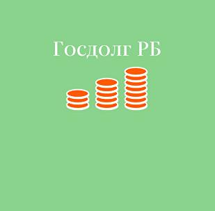 Текущий государственный долг Республики Беларусь – инфографика на sputnik.by