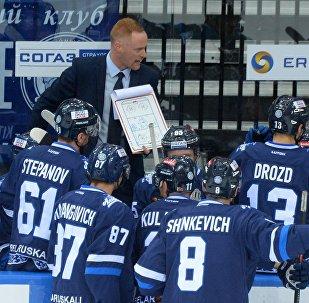 Хоккеисты минского Динамо