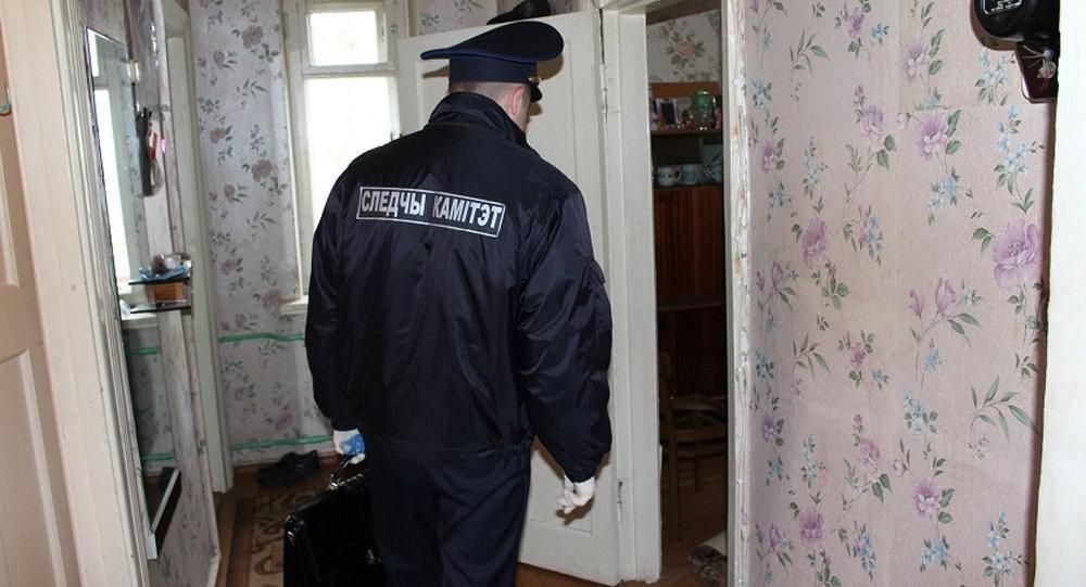 Сотрудник СК на месте преступления