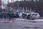 ДТП под Мозырем: в лобовом столкновении погибли 2 водителя