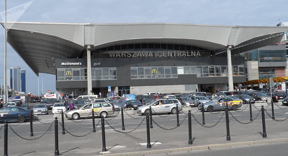 Центральный вокзал в Варшаве