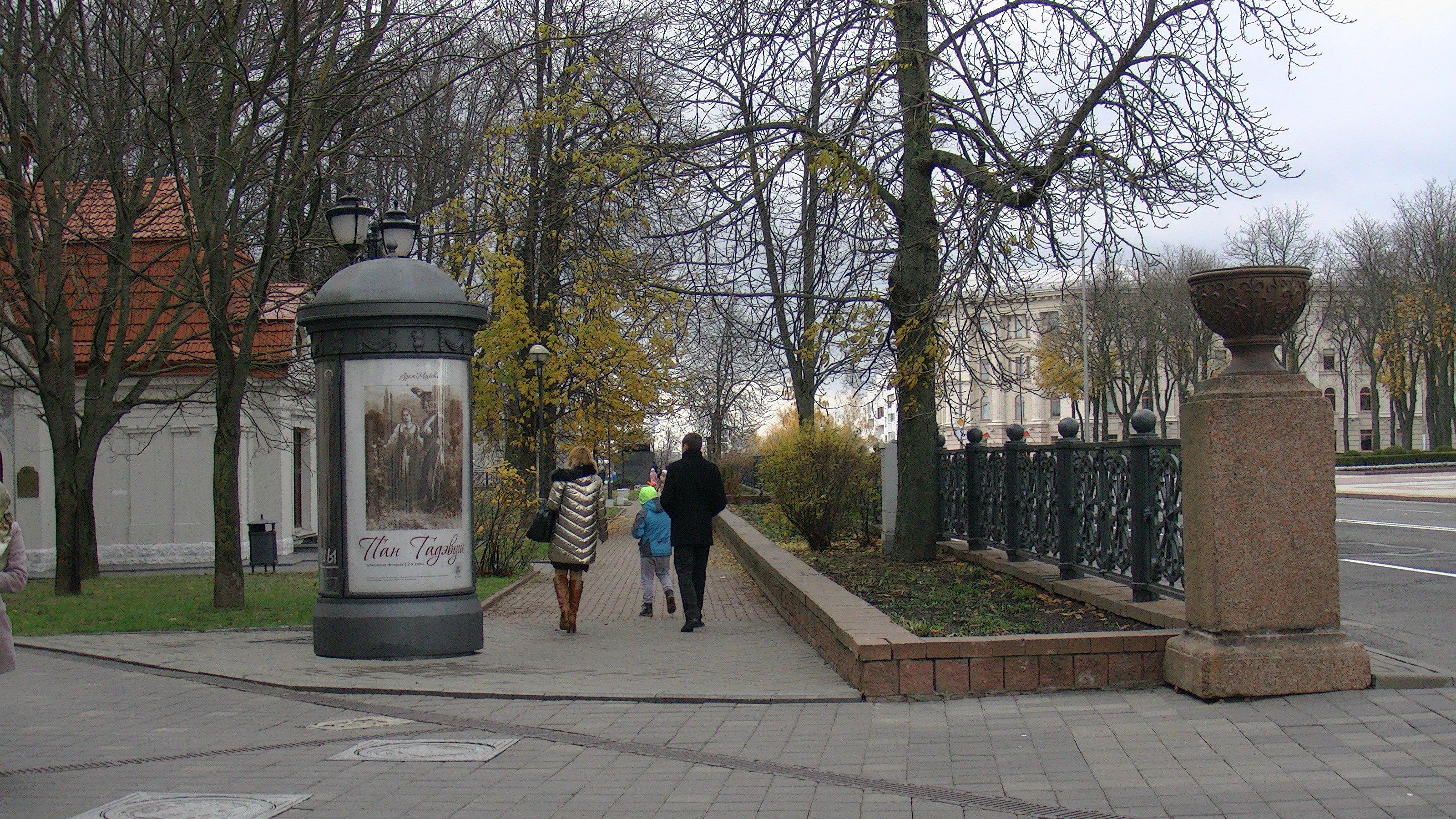 По мнению Игоря Корзуна, в Александровском сквере деревьям не всегда хватает места