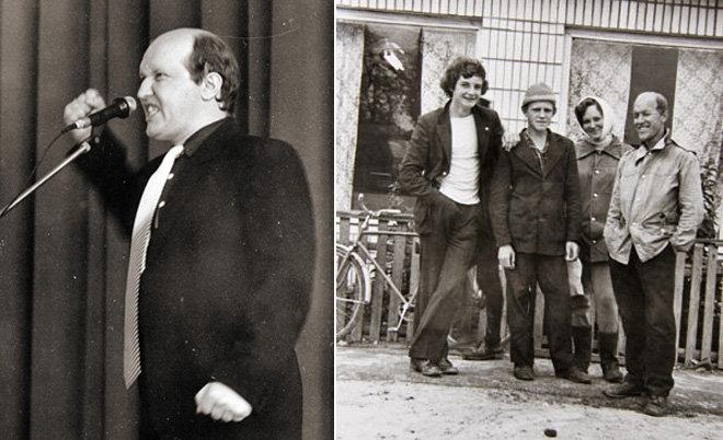 Александр Веснин в 1980-е