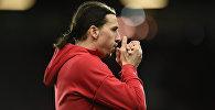 Нападающий ФК Манчестер Юнайтед Златан Ибрагимович