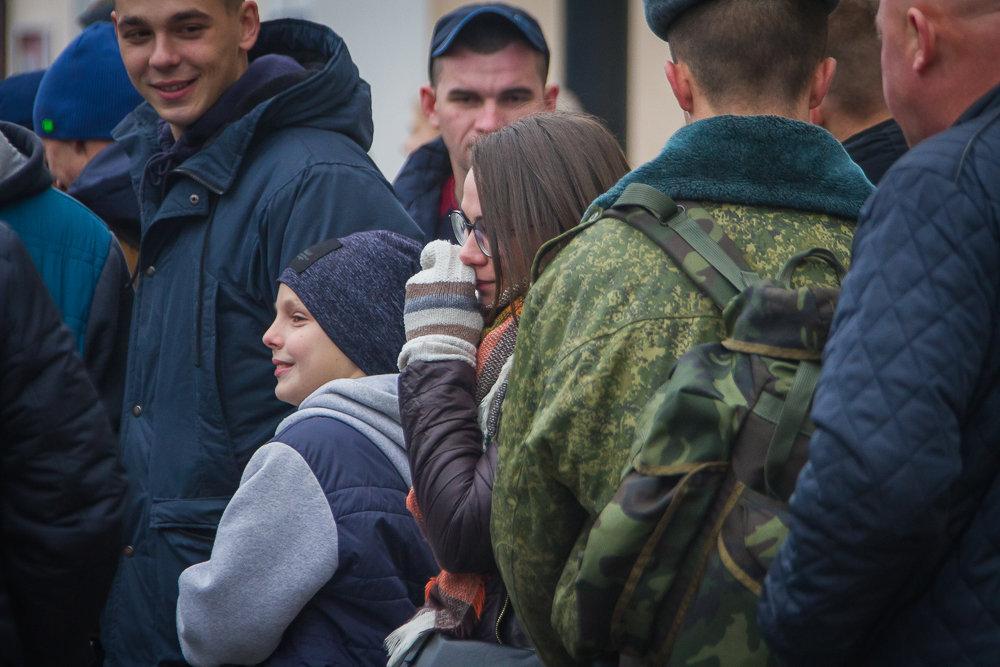 Призывники – отправка на прохождение воинской службы