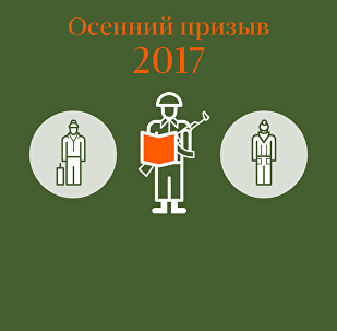 Осенний призыв 2017 в Беларуси – инфографика на sputnik.by