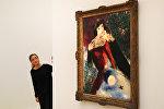 Картина Любовники Марка Шагала, архивное фото