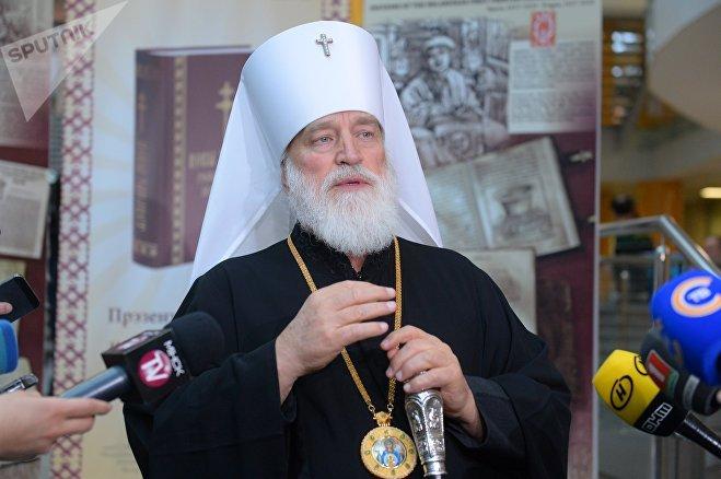 Патрыяршы экзарх усея Беларусі Мітрапаліт Павел