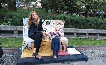 Агата с дочкой
