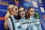 Предыдущий состав группы Serebro - Екатерина Кищук, Ольга Серябкина и Полина Фаворская