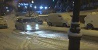 Снегопад во Владивостоке, видео