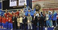 Команда Беларуси завоевала золотые медали турнира памяти олимпийского чемпиона Олега Караваева