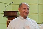 Корреспондент Украинского радио Павел Шаройко
