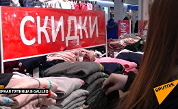 Минчане отправились за покупками в черную пятницу
