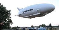 Гибридный дирижабль Airlander 10, архивное фото
